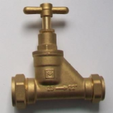 Brass MDPE 25mm x 22mm Reducing Stop Cock - 07001624